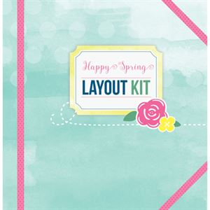 Picture of Happy Spring Layout Kit